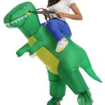 FS-Adult-Child-Inflatable-Rider-Costume-Fancy-Halloween-Cosplay-Blow-Up-Suit-0