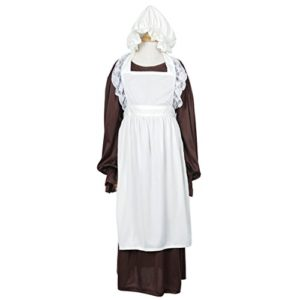 FantastCostumes-Girls-Victorian-Long-Apron-Costumes-Dress-with-Bonnet-0