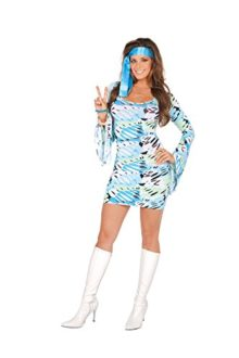 Female-Retro-Print-Princess-Halloween-Roleplay-Costume-2pc-Set-0