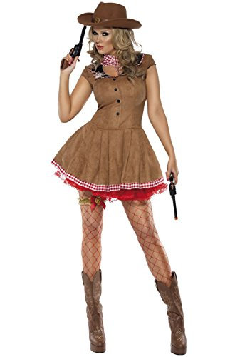 Fever Wild West Cowgirl Adult Costume