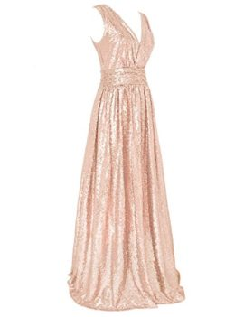 Flapper-Girl-Womens-Sequin-Bridesmaid-Dress-Prom-Banquet-Evening-Formal-Dresses-0-2
