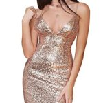 Flapper-Girl-Womens-Sexy-Sleeveless-Sequin-Bodycon-Deep-V-Neck-Club-Wear-Mini-Party-Dress-0