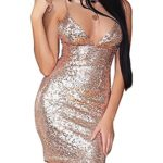 Flapper-Girl-Womens-Sexy-Sleeveless-Sequin-Bodycon-Deep-V-Neck-Club-Wear-Mini-Party-Dress-0-2