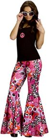 Flower-Power-Bell-Bottoms-Adult-Costume-Peace-Flowers-Brown-0