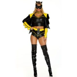Forplay-Costumes-Action-Packed-Headband-Top-Shorts-W-Belt-Armbands-Mask-0-1