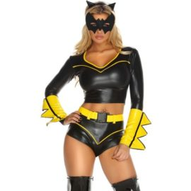 Forplay-Costumes-Action-Packed-Headband-Top-Shorts-W-Belt-Armbands-Mask-0-2