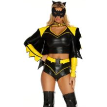 Forplay-Costumes-Action-Packed-Headband-Top-Shorts-W-Belt-Armbands-Mask-0