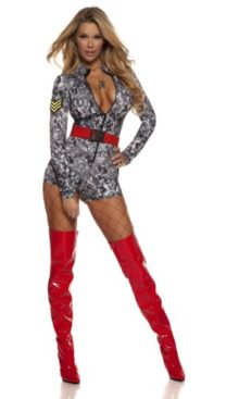 Forplay-Womens-Digi-Camo-Romper-with-Belt-0