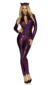 Forplay-Womens-Fancy-Feline-Catsuit-Costume-and-Headband-0