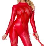 Forplay-Womens-Vile-Vixen-Matte-Catsuit-with-Mesh-Insets-and-Headband-0
