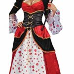 Forum-Alice-In-Wonderland-Queen-Of-Hearts-Costume-Small-0