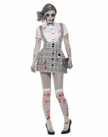 Forum-Novelties-78243-Zombie-Schoolgirl-Costume-Uk-Size-10-14-0