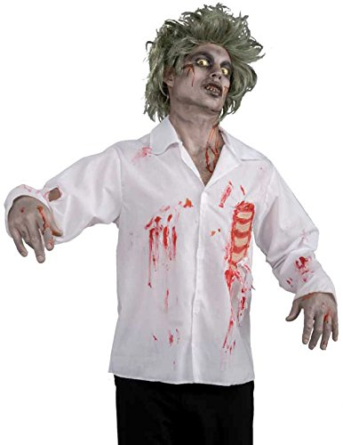 Forum Novelties Men's Zombie Shirt with Chest Wound Costume