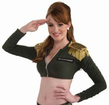 Forum-Novelties-Womens-Combat-Cutie-Adult-Costume-Cropped-Jacket-0