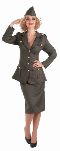 Forum Novelties Women's WWII Army Gal Costume