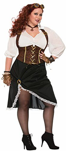 Forum-Womens-Steampunk-Lady-Costume-with-Corset-Style-Dress-0