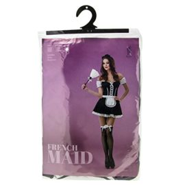 French-Maid-Womens-Halloween-Costume-Sexy-Cleaning-Service-Maiden-Apron-Skirt-0-3