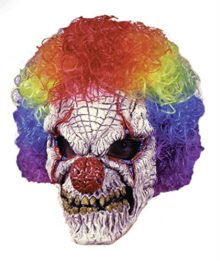 Fun-World-Clown-Mask-With-Wig-0