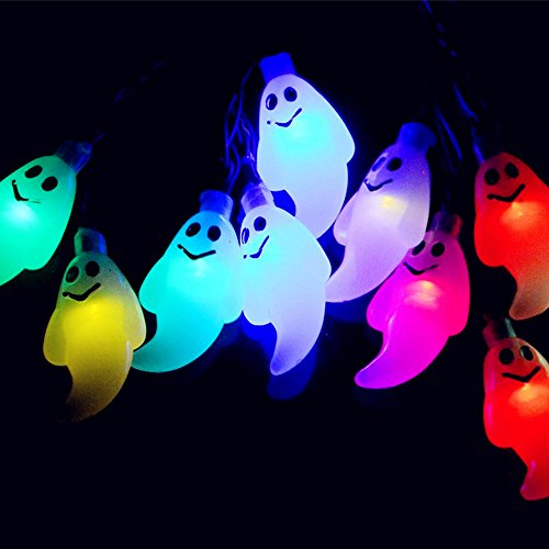 Ghost-String-Lights-30-LEDs-for-Halloween-Easter-Lights-Christmas-Patio-Lawn-Garden-Party-and-Holiday-Decorations-Themed-Lights-Waterproof-30-Leds-Multicolor-0-3