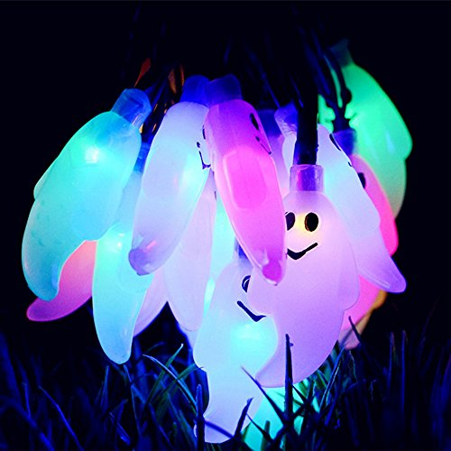 Ghost-String-Lights-30-LEDs-for-Halloween-Easter-Lights-Christmas-Patio-Lawn-Garden-Party-and-Holiday-Decorations-Themed-Lights-Waterproof-30-Leds-Multicolor-0-4