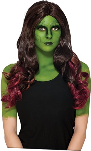Guardians of the Galaxy Gamora Adult Wig