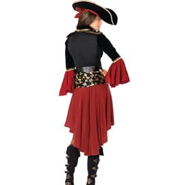 HZY-Halloween-Women-Pirate-Costume-Beauty-Cosplay-Cap-Dresses-Belt-0-0