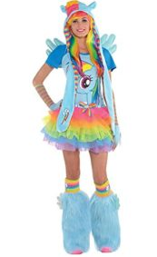 HalloCostume-Adult-Rainbow-Dash-Costume-Premier-My-Little-Pony-0