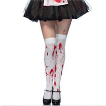 Halloween-Blood-Stained-White-Stockings-and-Skeleton-Over-Knee-Socks-0