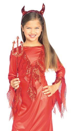 Halloween Concepts Child's Devilish Diva Costume