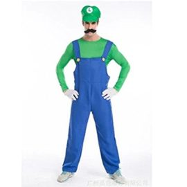 Halloween-Costume-Cosplay-Super-Mario-Brothers-Mario-Costume-0