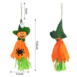 Halloween-Decorations-Ghosts-Doll-Pendants-3-Pack-Decorative-Elements-of-Pumpkins-Ghosts-and-Spidersfor-HomeBarsSupermarket-Decorations-0-3