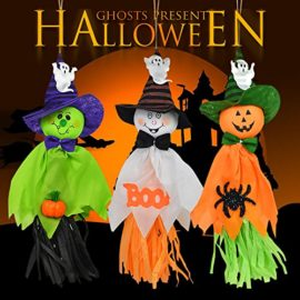 Halloween-Decorations-Ghosts-Doll-Pendants-3-Pack-Decorative-Elements-of-Pumpkins-Ghosts-and-Spidersfor-HomeBarsSupermarket-Decorations-0-4