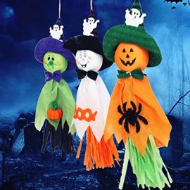 Halloween-Decorations-Ghosts-Doll-Pendants-3-Pack-Decorative-Elements-of-Pumpkins-Ghosts-and-Spidersfor-HomeBarsSupermarket-Decorations-0-5