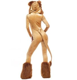 Halloween-Deluxe-Lion-Animal-Cosplay-Costume-Stage-Sexy-Jumpsuit-0-3