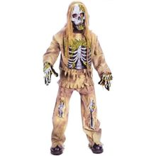 Halloween-Fun-World-Skeleton-Zombie-Child-Costume-Medium-8-10-0