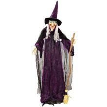 Halloween-Haunters-6-foot-Animated-Standing-Scary-Evil-Wicked-Witch-Broomstick-Prop-Decoration-Turning-Body-Head-Speaks-Cackles-LED-Eyes-0