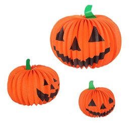 Halloween-Pumpkin-Paper-Lantern-Table-Centerpiece-Jack-O-Lantern-Party-Decorations-6-Pack-0-5
