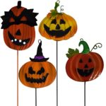 Halloween-Yard-Stake-Decorations-Pumpkin-Jack-o-Lantern-Metal-Garden-Yard-Signs-Set-of-4-Outdoor-Party-Decor-By-Gift-Boutique-0