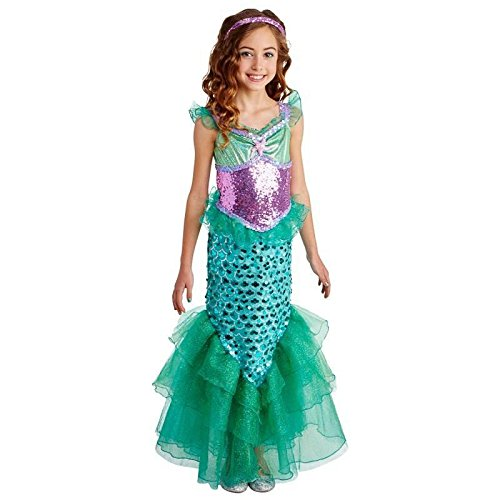 Happy Haunts Blue Seas Mermaid Costume