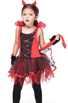 Honeystore-Girls-Devil-Costume-Halloween-Party-Kids-Dress-up-Role-Play-0