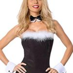 IF-FEEL-Womens-Sexy-Lingerie-Bunny-Girl-Costume-Cosplay-Bodysuit-0-4
