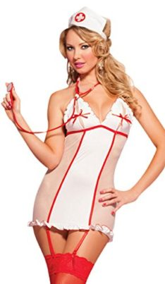 IF-FEEL-Womens-Sexy-Nurse-Uniforme-Cosplay-Costume-Set-For-Halloween-0-1