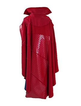 Ice-Dream-Mens-Battle-Suit-Red-Cloak-Blue-Full-Set-Halloween-Cosplay-Costume-0-1