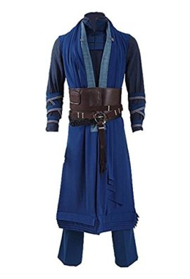 Ice-Dream-Mens-Battle-Suit-Red-Cloak-Blue-Full-Set-Halloween-Cosplay-Costume-0-2