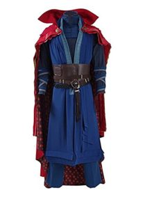 Ice-Dream-Mens-Battle-Suit-Red-Cloak-Blue-Full-Set-Halloween-Cosplay-Costume-0