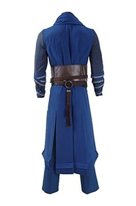 Ice-Dream-Mens-Battle-Suit-Red-Cloak-Blue-Full-Set-Halloween-Cosplay-Costume-0-3
