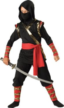 InCharacter-Costumes-LLC-Little-Boys-Ninja-Hoody-Set-0