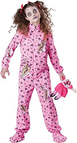 InCharacter-Costumes-Tween-Zombie-Girl-Costume-Purple-Large-0