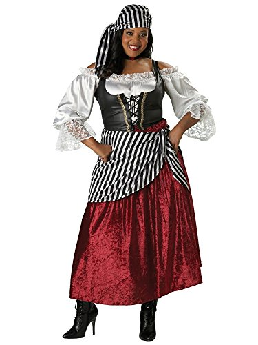 InCharacter Costumes Women's Plus-Size Pirate's Wench Adult Plus Size