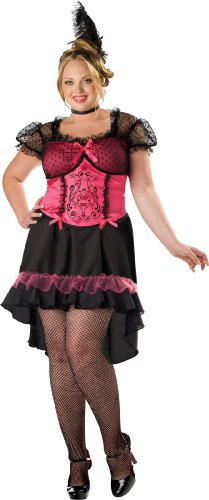 InCharacter Costumes Women's Plus Size Saloon Gal 2B Adult Costume